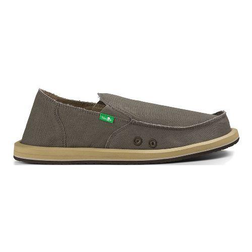 Mens Sanuk Vagabond Casual Shoe - Brindle 8
