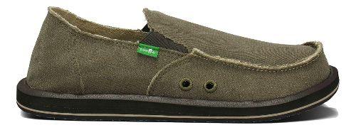 Mens Sanuk Vagabond Casual Shoe - Brown 9