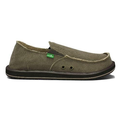 Mens Sanuk Vagabond Casual Shoe - Dark Navy 9