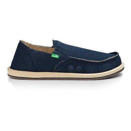 Mens Sanuk Vagabond Casual Shoe - Dark Navy 14
