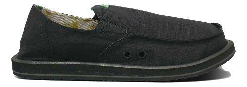 Mens Sanuk Pick Pocket Casual Shoe - Black 11