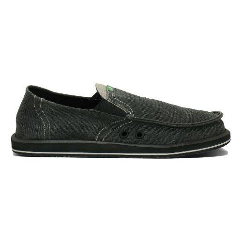 Mens Sanuk Pick Pocket Casual Shoe - Grey Chambray 13