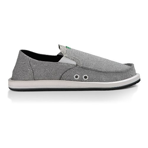 Mens Sanuk Pick Pocket Casual Shoe - Grey Chambray 14