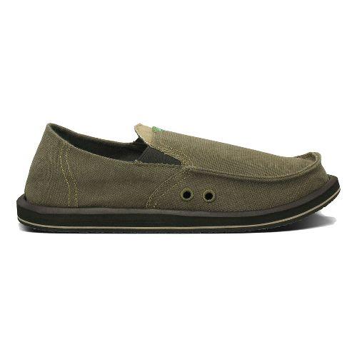 Mens Sanuk Pick Pocket Casual Shoe - Brown 13