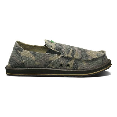Mens Sanuk Pick Pocket Casual Shoe - Camouflage 11
