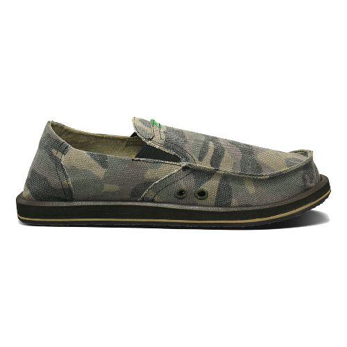 Mens Sanuk Pick Pocket Casual Shoe - Camouflage 8