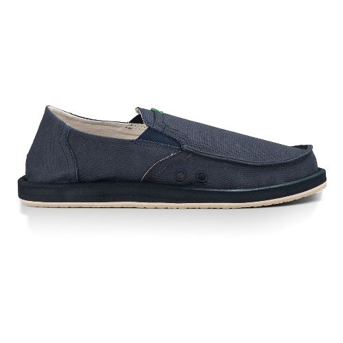 Mens Sanuk Pick Pocket Casual Shoe - Navy 14