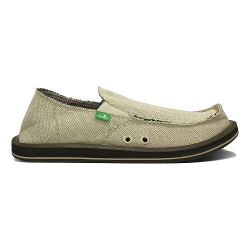 Mens Sanuk Hemp Casual Shoe - Natural 14