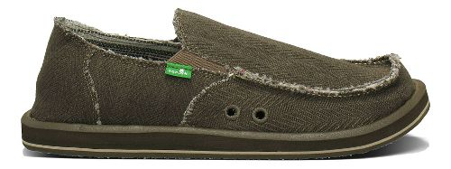 Mens Sanuk Hemp Casual Shoe - Olive 9