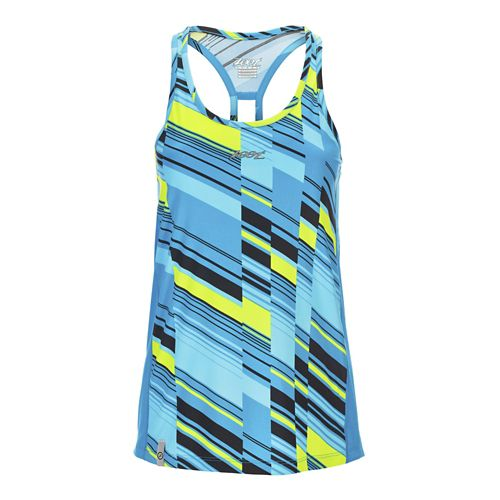 Womens Zoot West Coast Singlet Sleeveless & Tank Technical Tops - Slice S