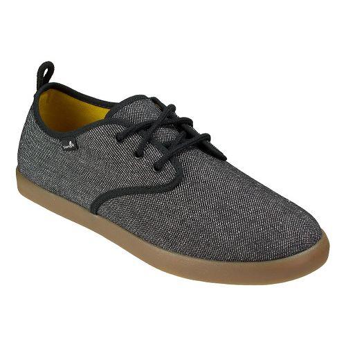 Mens Sanuk Guide TX Casual Shoe - Black/Gum 10.5