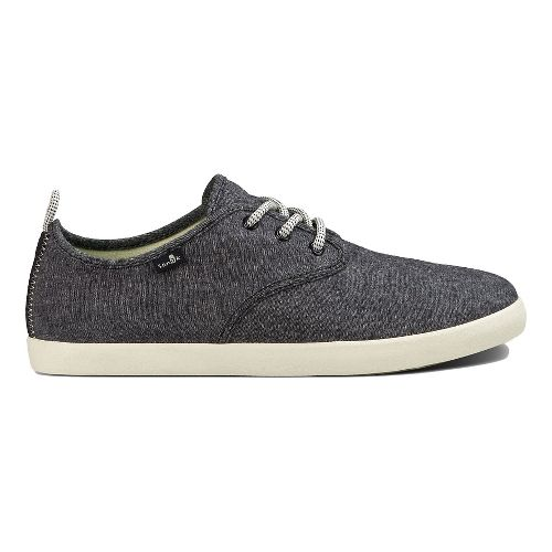 Mens Sanuk Guide TX Casual Shoe - Black Chambray 10