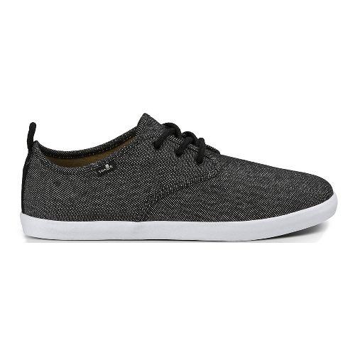 Mens Sanuk Guide TX Casual Shoe - Black/White 11