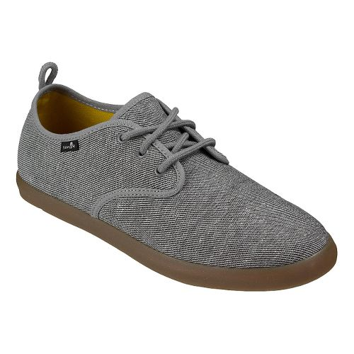 Mens Sanuk Guide TX Casual Shoe - Grey/Gum 7