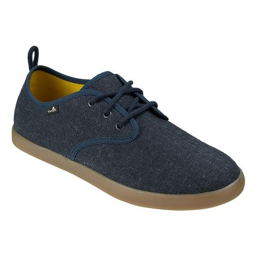 Mens Sanuk Guide TX Casual Shoe - Navy/Gum 10