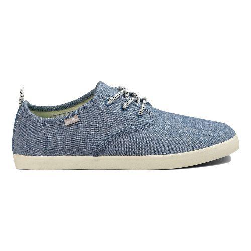 Mens Sanuk Guide TX Casual Shoe - Blue Chambray 8.5