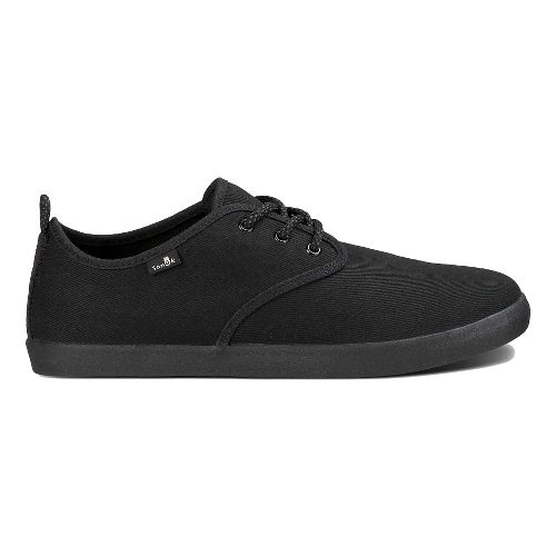 Mens Sanuk Guide Casual Shoe - Blackout 10.5