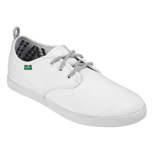 Mens Sanuk Guide Casual Shoe - White 9