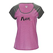 Womens Zoot Sunset Ink Tee Short Sleeve Technical Tops