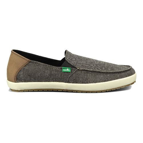 Mens Sanuk Casa Vintage Casual Shoe - Black 10