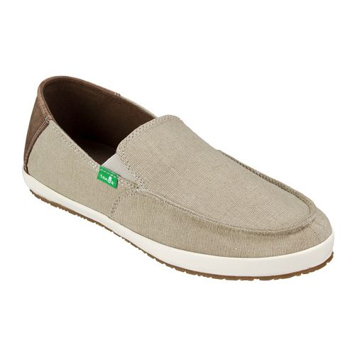 Mens Sanuk Casa Vintage Casual Shoe - Natural Vintage 9