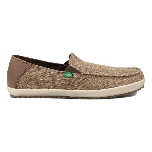 Mens Sanuk Casa Vintage Casual Shoe - Brown 10
