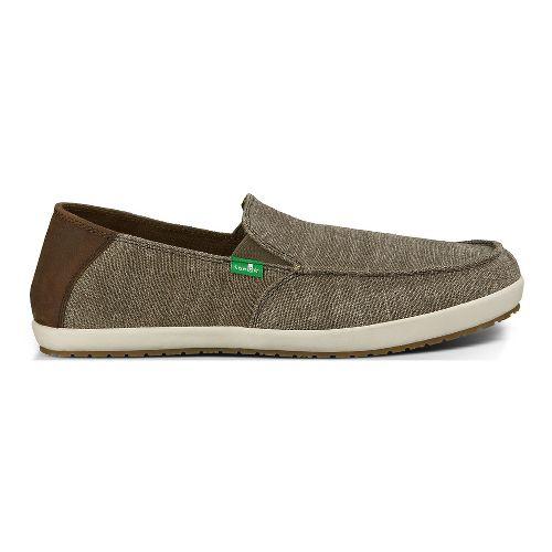 Mens Sanuk Casa Vintage Casual Shoe - Brindle Vintage 9