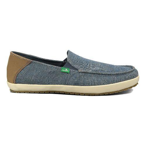 Mens Sanuk Casa Vintage Casual Shoe - Blue 10.5
