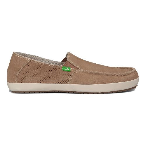 Mens Sanuk Casa Suede Casual Shoe - Tan 7