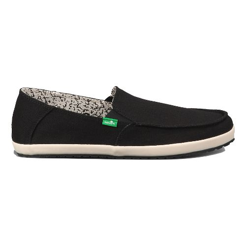 Mens Sanuk Casa Casual Shoe - Black 8.5