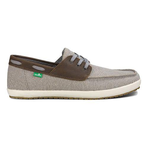 Mens Sanuk Casa Barco Vintage Casual Shoe - Grey 7