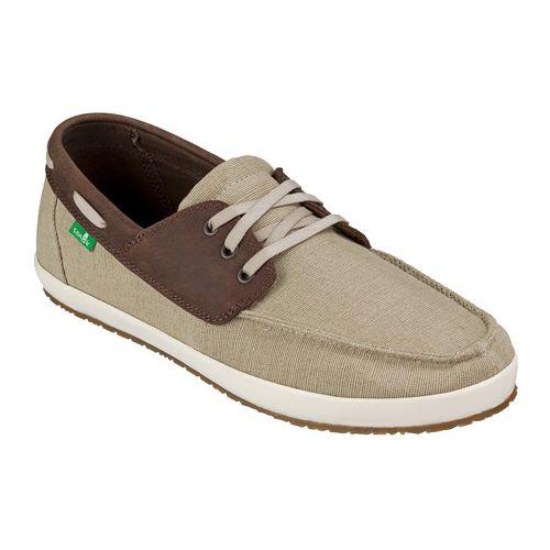 Mens Sanuk Casa Barco Vintage Casual Shoe - Natural Vintage 9