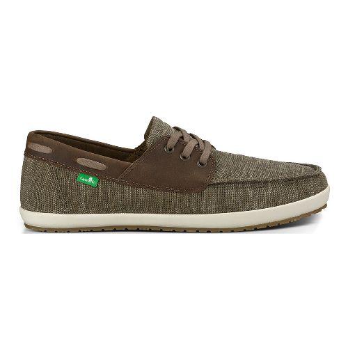 Mens Sanuk Casa Barco Vintage Casual Shoe - Brindle Vintage 10
