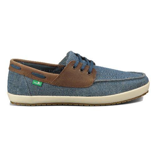 Mens Sanuk Casa Barco Vintage Casual Shoe - Blue 7