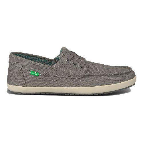 Mens Sanuk Casa Barco Casual Shoe - Charcoal 9.5