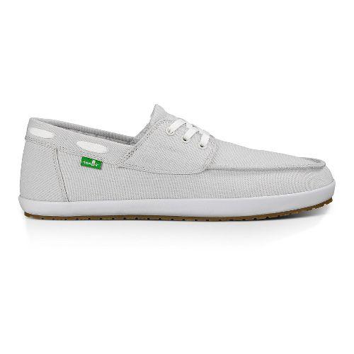 Mens Sanuk Casa Barco Casual Shoe - Light Grey 7