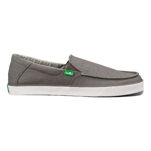 Mens Sanuk Sideline Casual Shoe - Charcoal 13