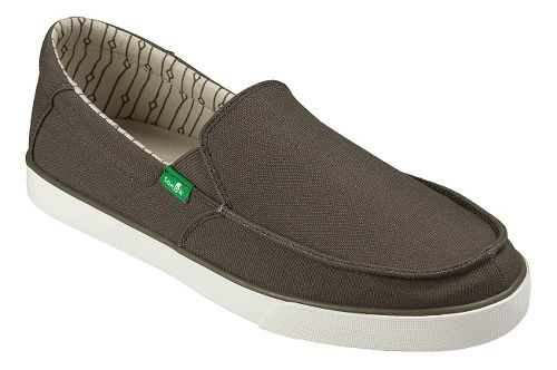 Mens Sanuk Sideline Casual Shoe - Brown/Marshmallow 9