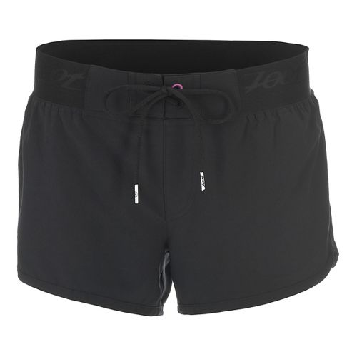 Womens Zoot Board 3 Inch Lined Shorts - Black L