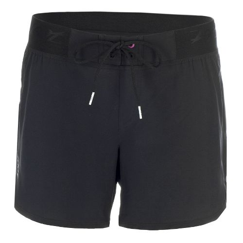 Womens Zoot Board 5 Inch Lined Shorts - Black S