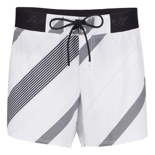 Womens Zoot Board 5 Inch Lined Shorts - Pipeline L