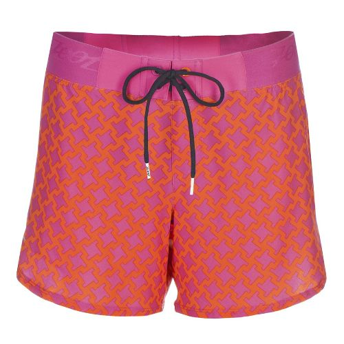 Womens Zoot Board 5 Inch Lined Shorts - Geo L