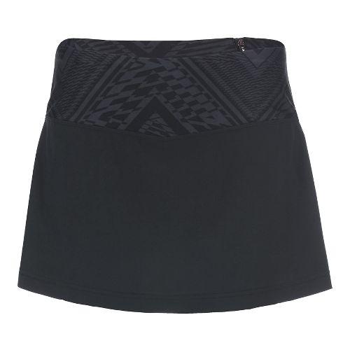 Womens Zoot PCH Skorts Fitness Skirts - Slate Tribal L