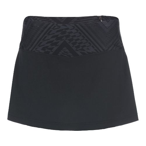 Womens Zoot PCH Skorts Fitness Skirts - Slate Tribal XL