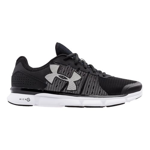 Mens Under Armour Micro G Speed Swift Running Shoe - Black 14
