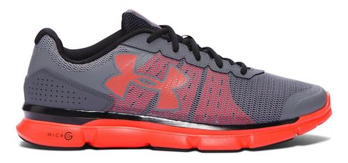 Mens Under Armour Micro G Speed Swift Running Shoe - Graphite/Black 14