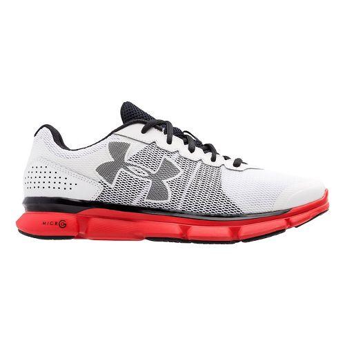 Mens Under Armour Micro G Speed Swift Running Shoe - White 14