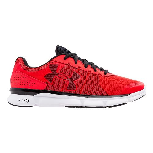 Mens Under Armour Micro G Speed Swift Running Shoe - Rocket Red 10.5