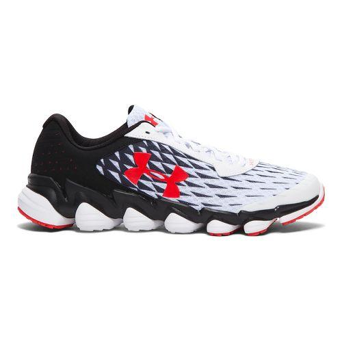 Mens Under Armour Spine Disrupt  Running Shoe - White 10.5