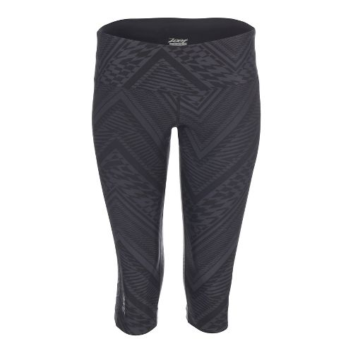 Womens Zoot Moonlight Knicker Capris Pants - Slate Tribal S